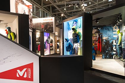 Millet Moutain Group Salon ISPO & Outdoor