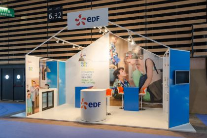 EDF Stand Fair of Lyon